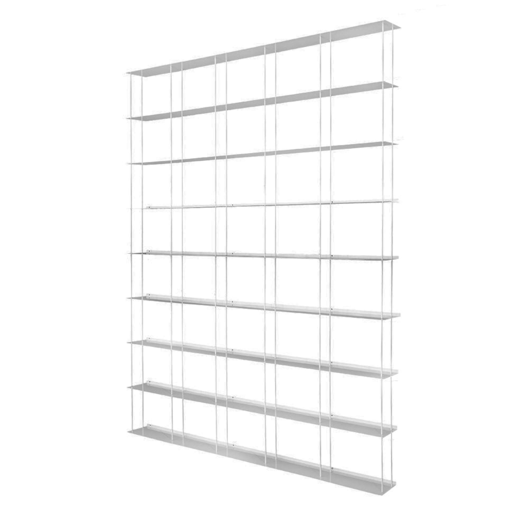 Kriptonite Krossing Shelving Unit 166x200cm , Aluminium