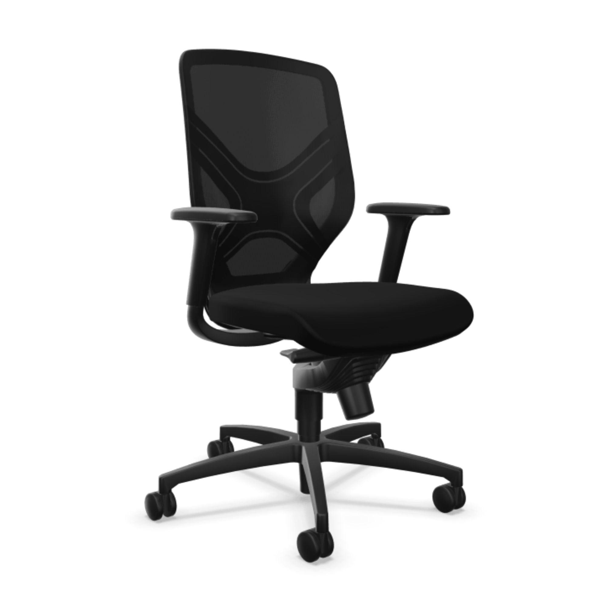 Wilkhahn In 184/7 Office Swivel Arm Chair