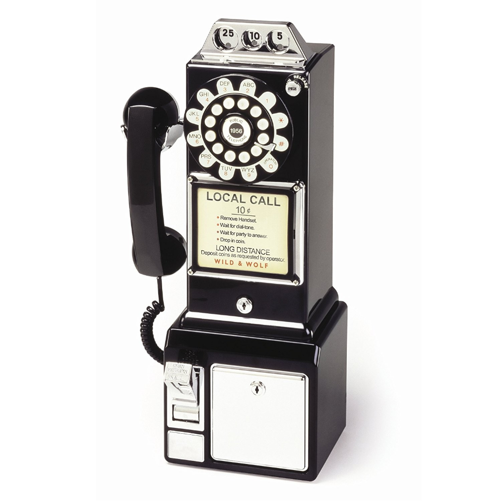 Wild and Wolf 1950s Diner Phone