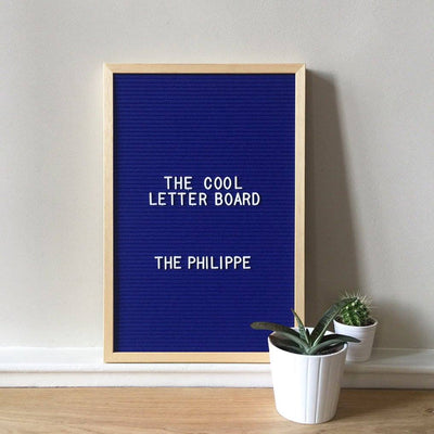 The Cool Company The Philippe Letter Board . 46 x 31cm