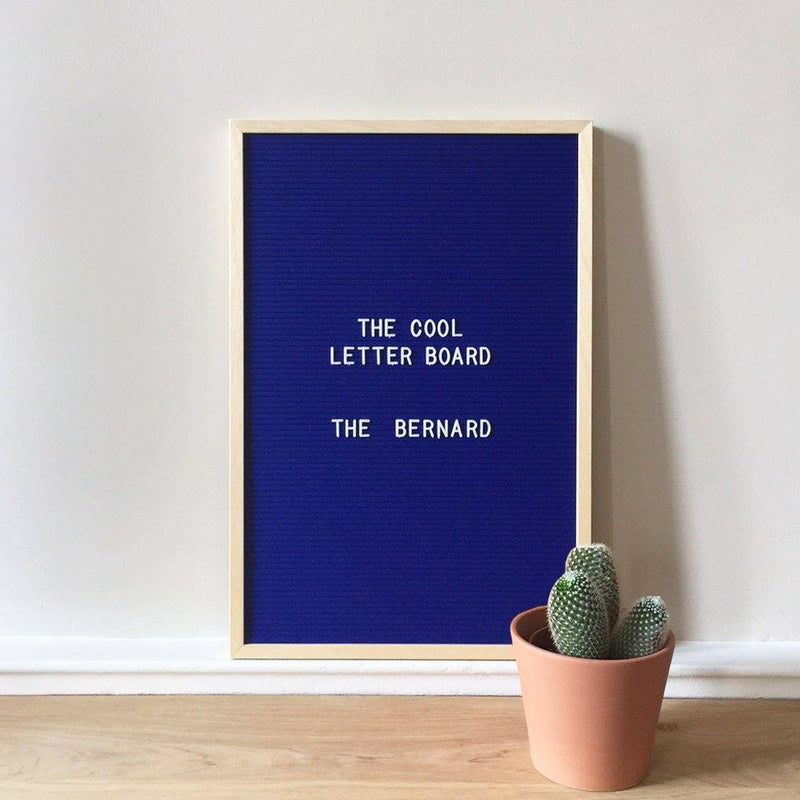 The Bernard Letter Board . 58 x 38.5