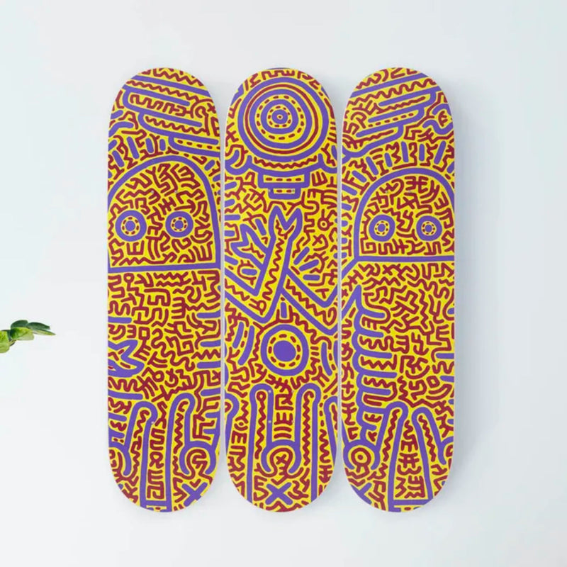 The Skateroom skateboard, Keith Haring Untitled (1984)