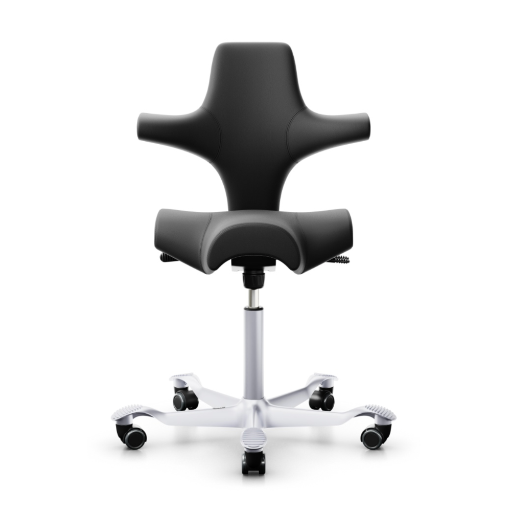 HAG Capisco 8106 ergonomic chair, leather