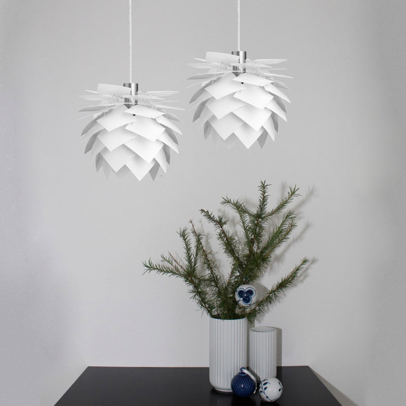 Dyberglarsen Pineapple Pendant Lamp . Medium in White