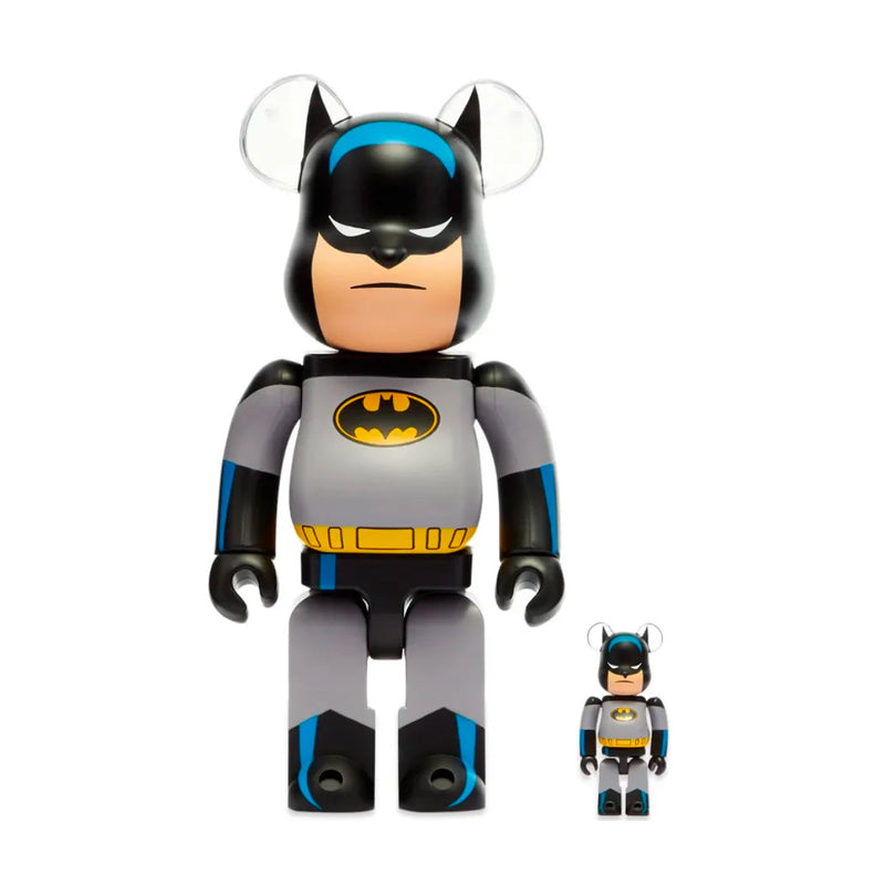 Medicom Toy BE@RBRICK Batman Animated 100% & 400%