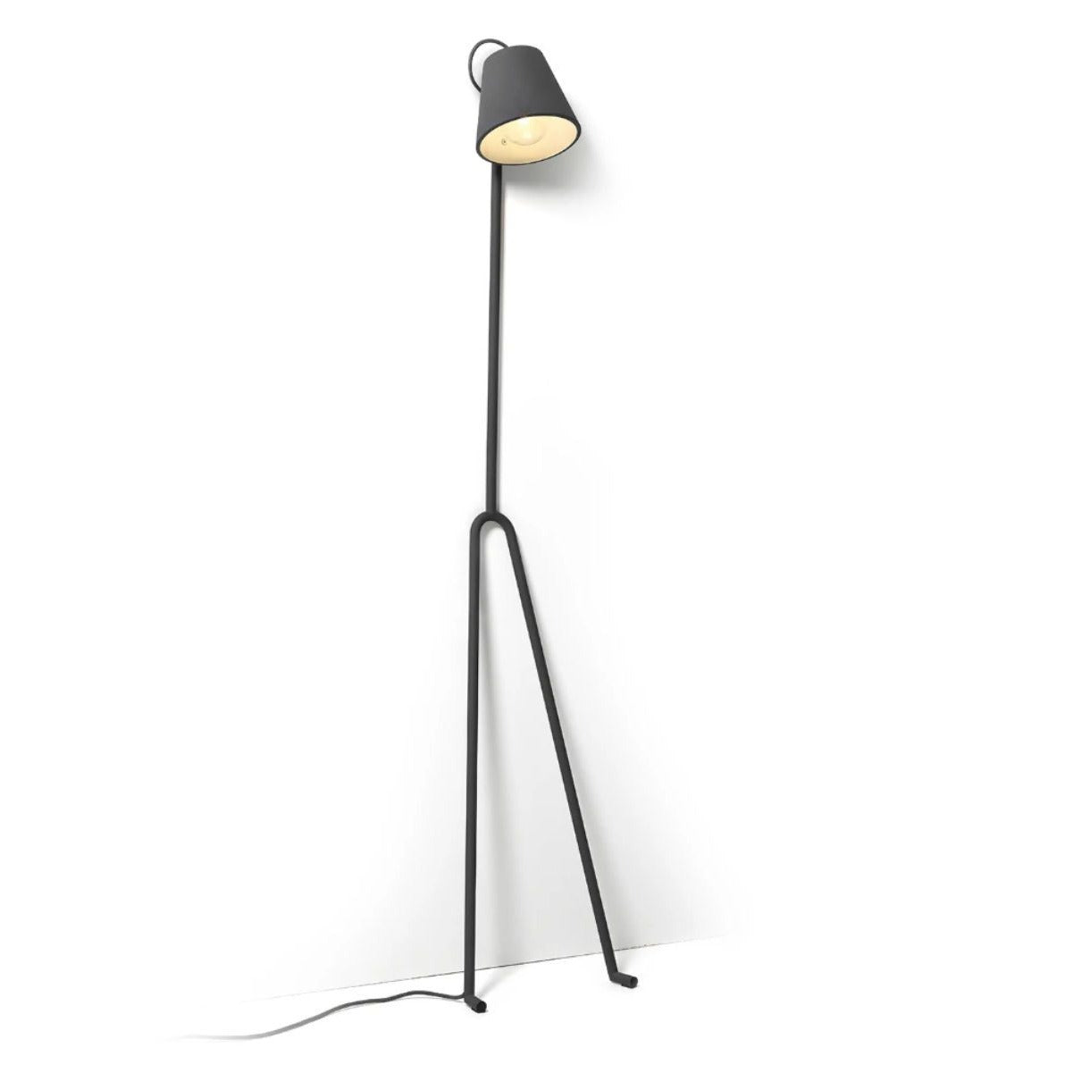 Design House Stockholm Mañana floor lamp, grey