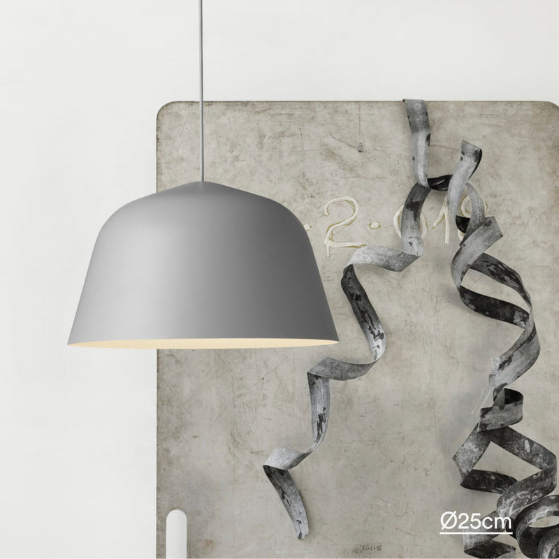 Muuto Ambit pendant lamp, grey