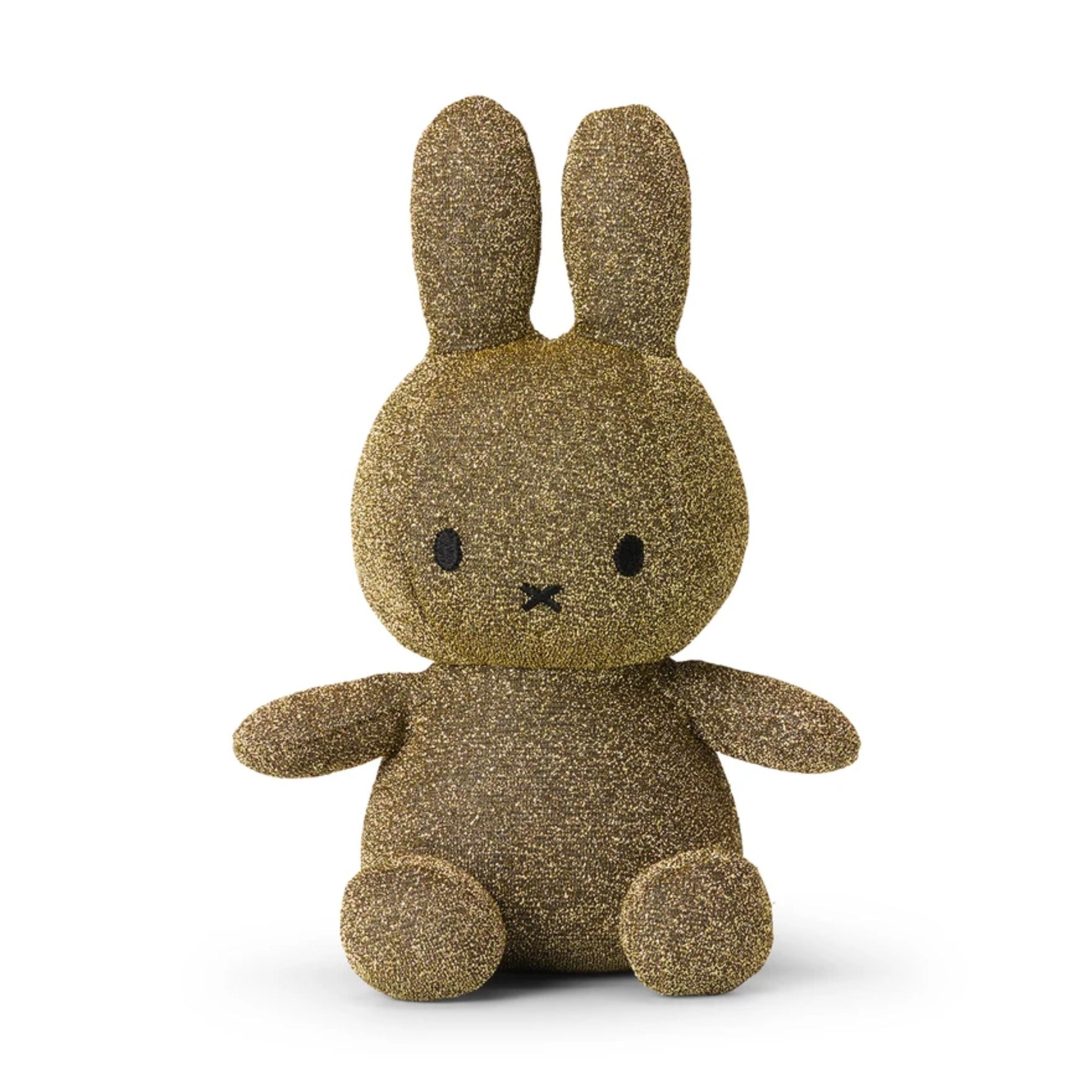 Miffy Sparkle Plush 23cm , gold