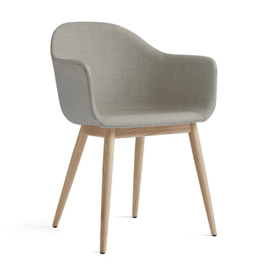 Menu Harbour Dining Chair Wood Base , Remix 233/Natural Oak