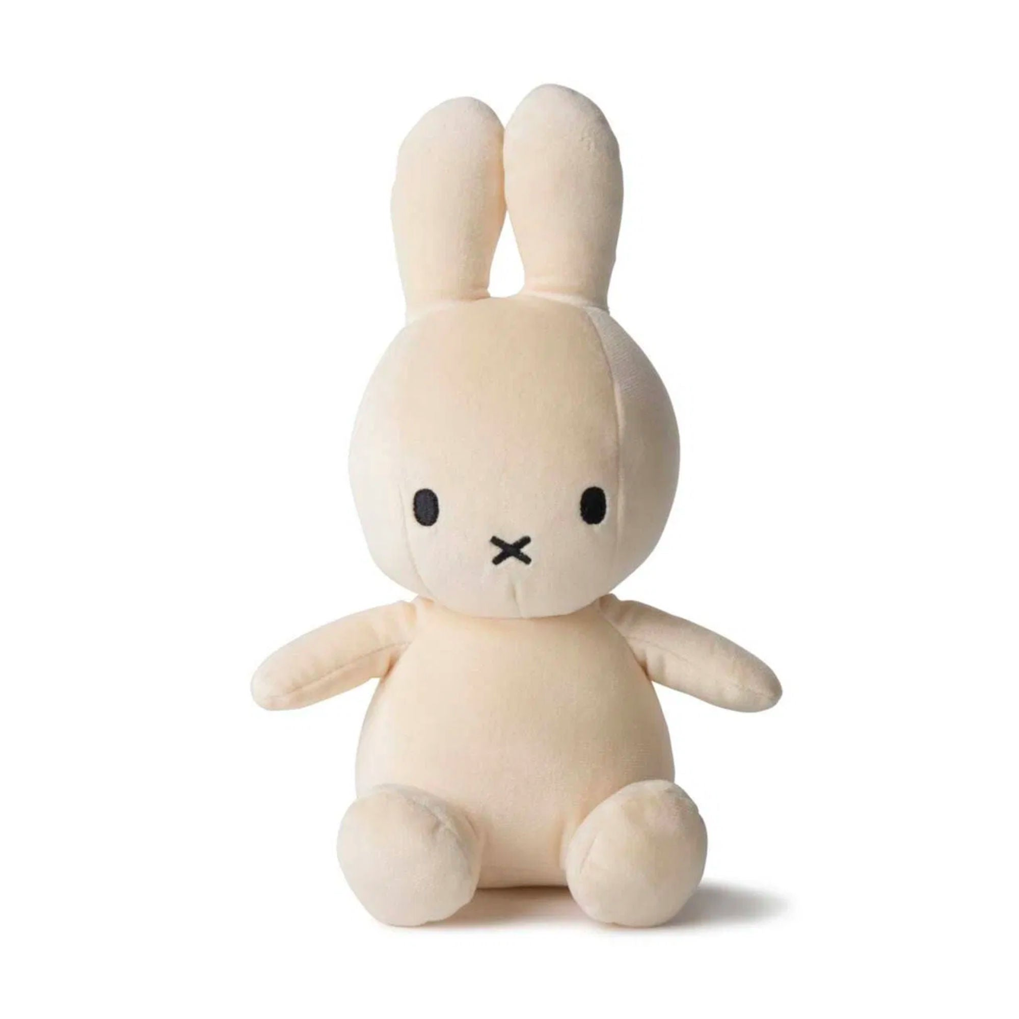 Miffy Sitting Velvetine Soft Toy 23cm , cream