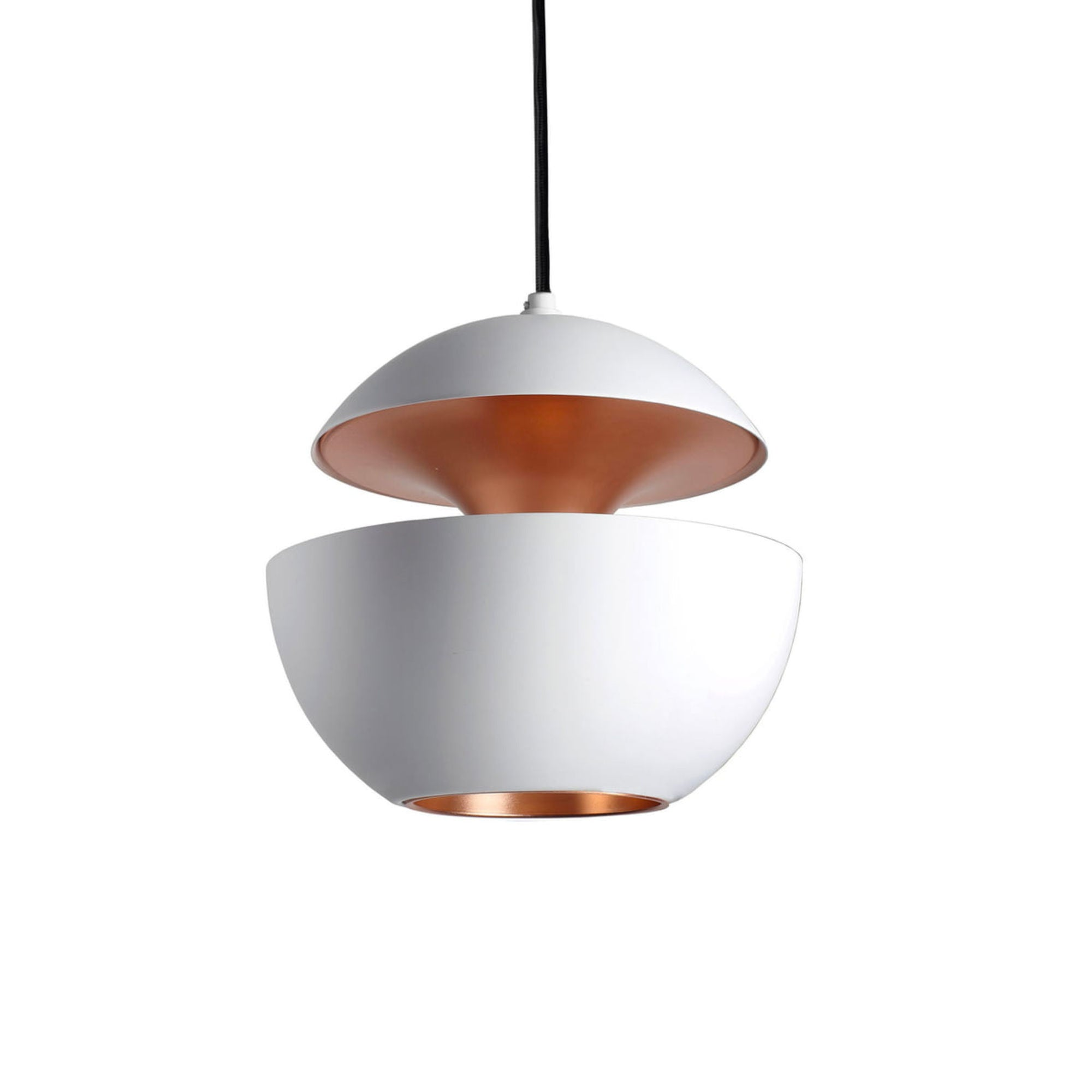 DCW Here Comes The Sun pendant lamp, white - copper