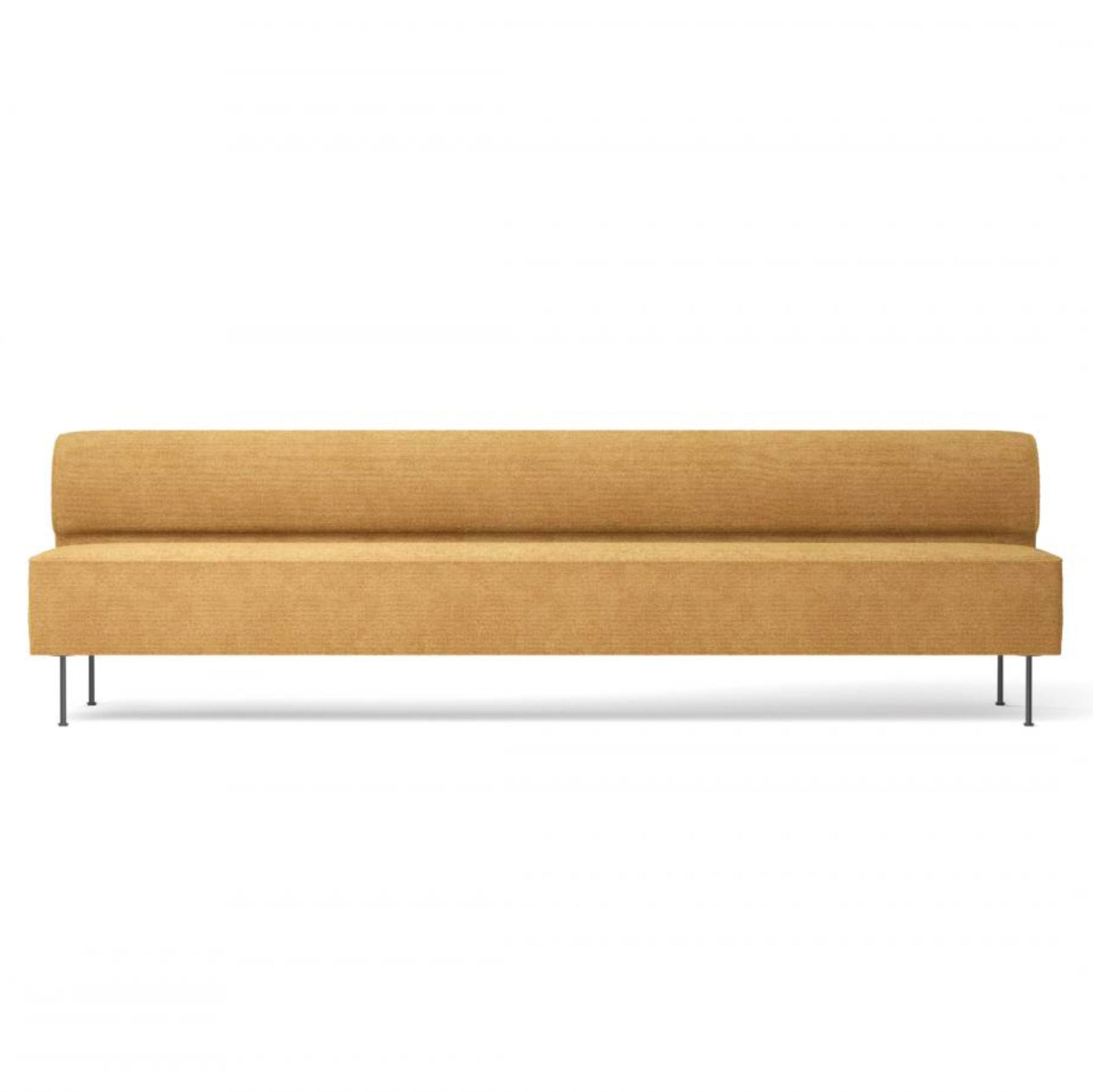 Menu Eave Dining Sofa 280 , Sacho Moss 022-Black Steel