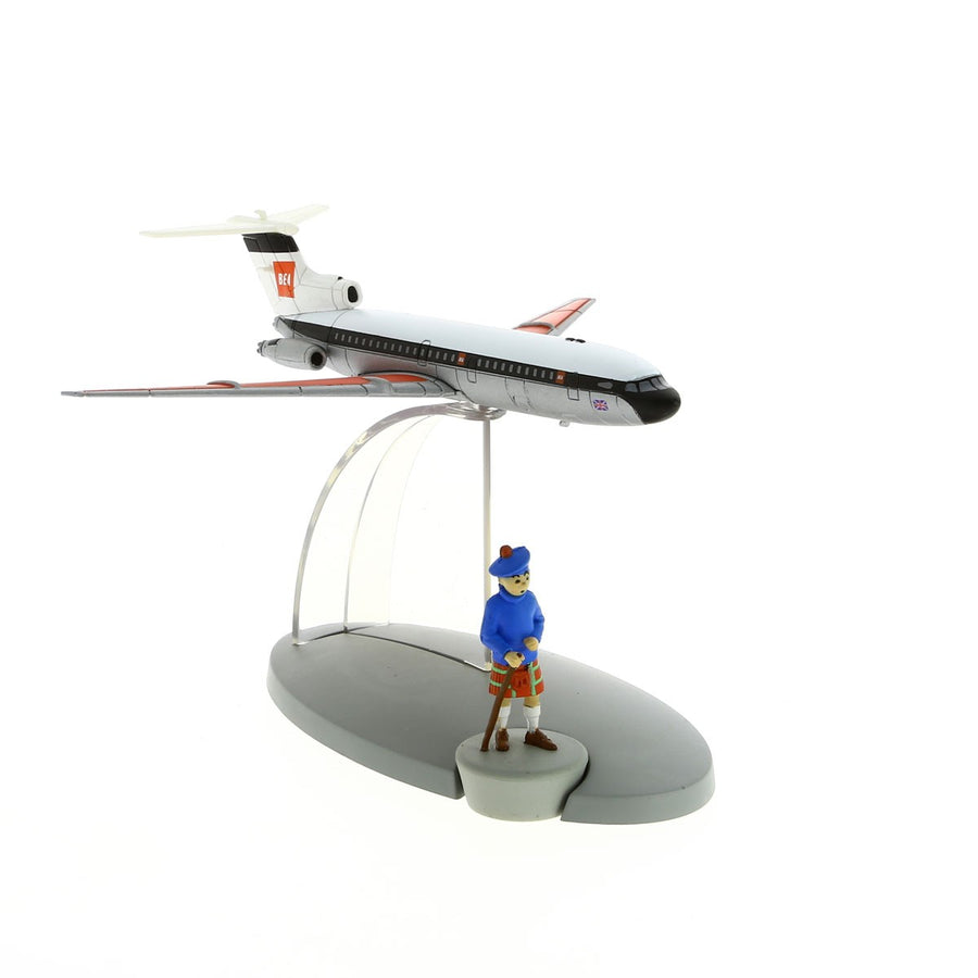 Tintin British European Airways Plane Model