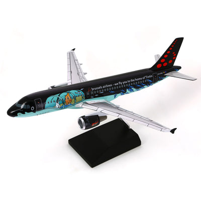 Tin Tin Aircraft Rackham Airbus 320 Model