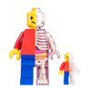 Jason Freeny Brick Man Anatomy Figure Classic