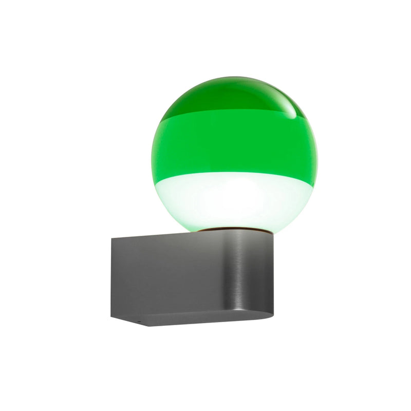 Marset Dipping light A1-13 wall lamp, green