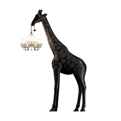 Qeeboo Giraffe In Love M , Black