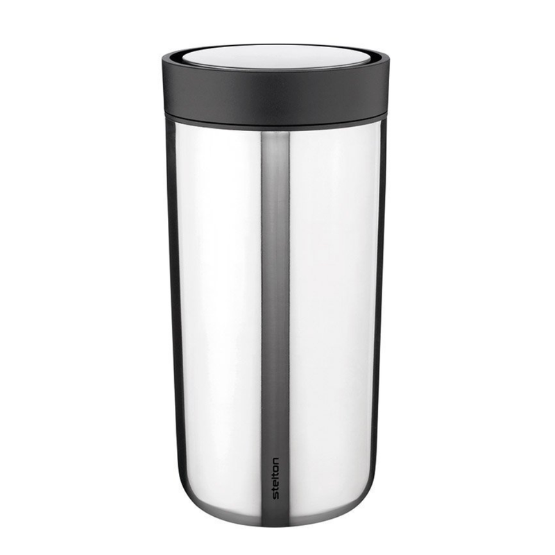 Stelton To Go Click Steel Mug 340ml