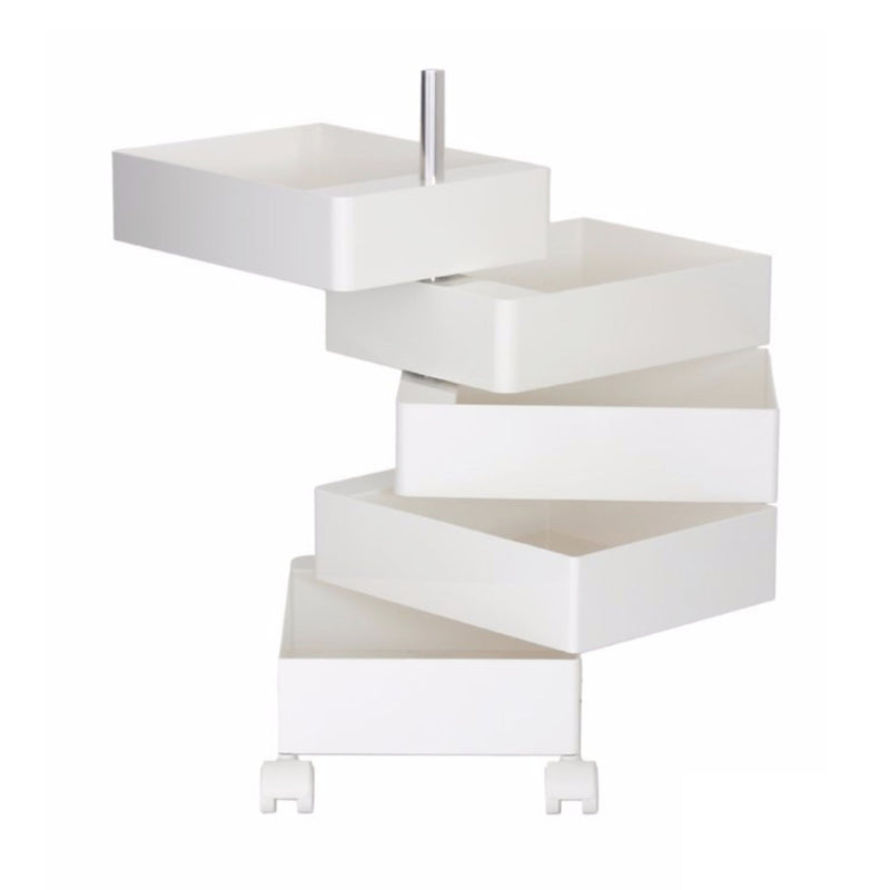 Magis 360° Container by Konstantin Grcic 5 Drawers , White