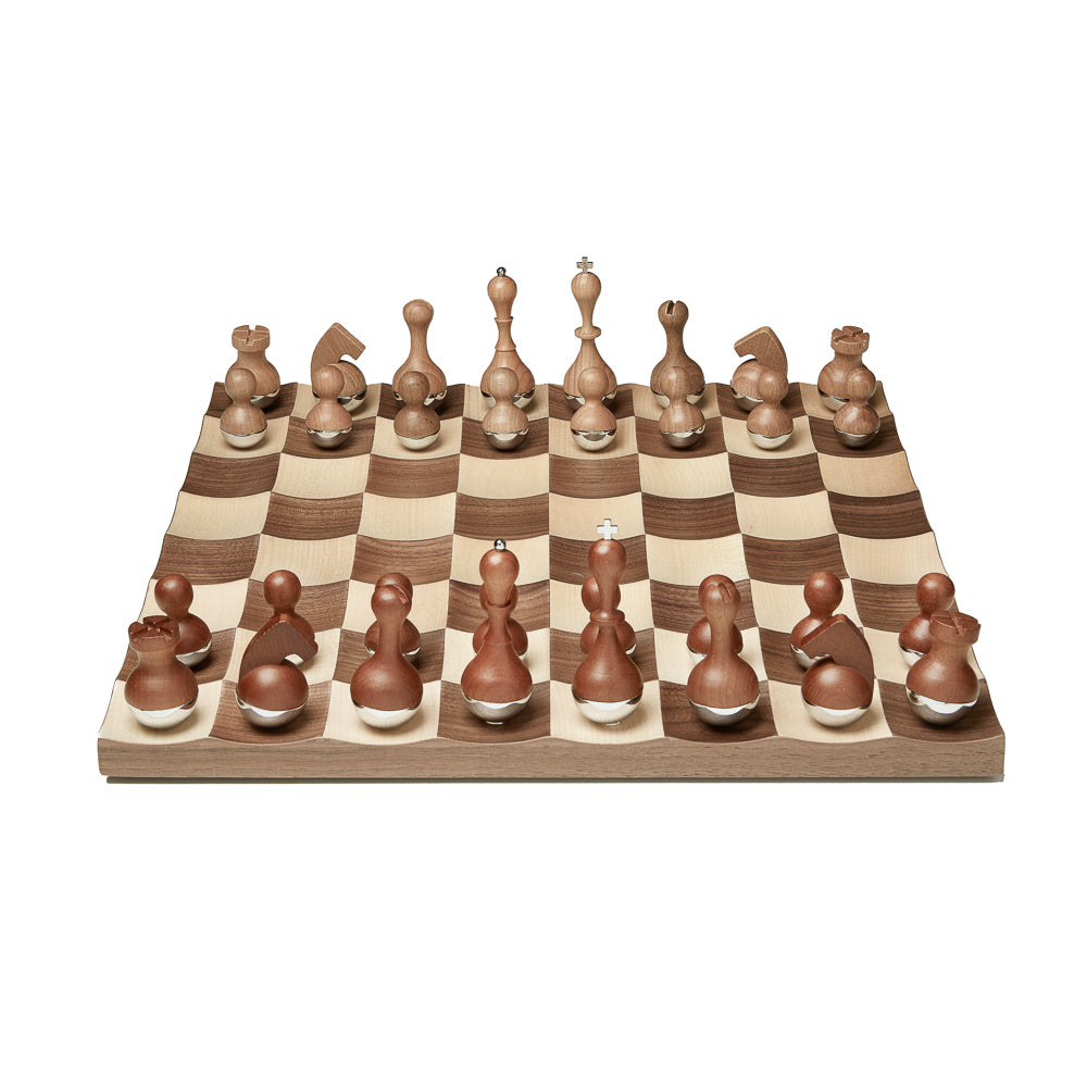 Umbra Chess Set Wobble