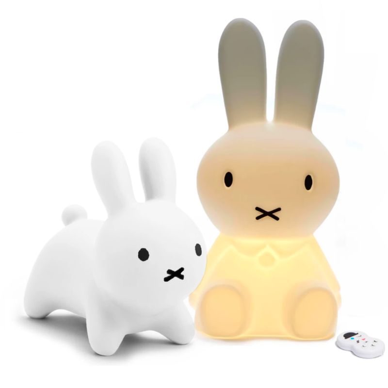 Miffy Bon Bon Chair & Miffy Lamp Original Combo