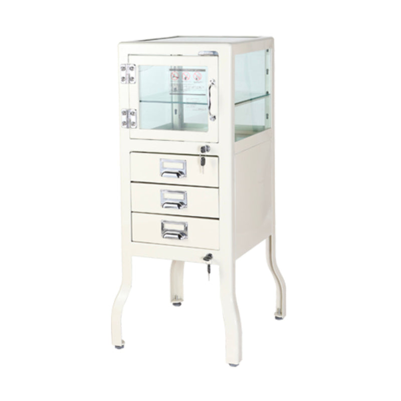 Dulton Dentist cabinet 3 drawers, ivory