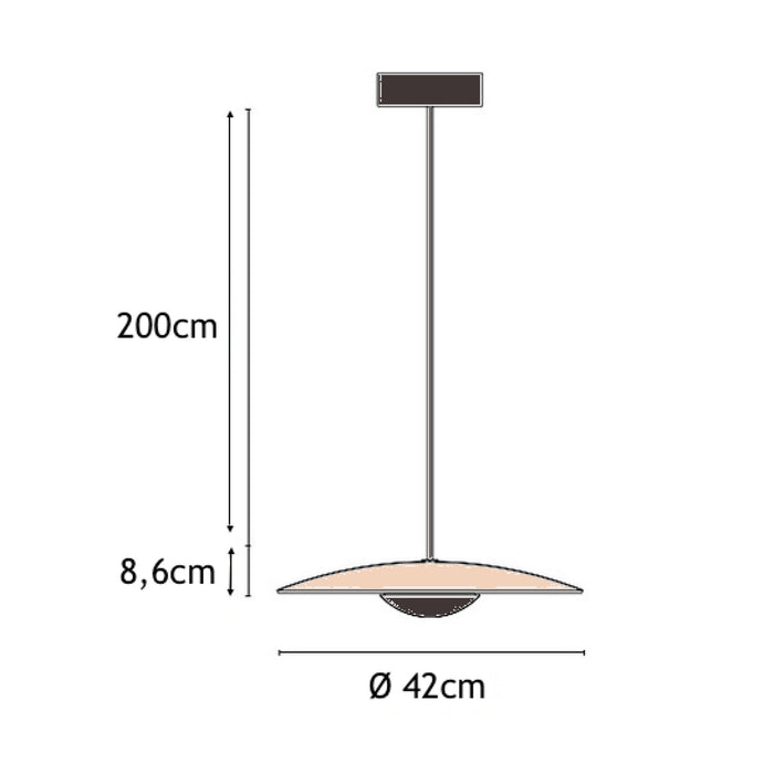 Lampe Gras N°411 Floor Lamp . Black Round Shade