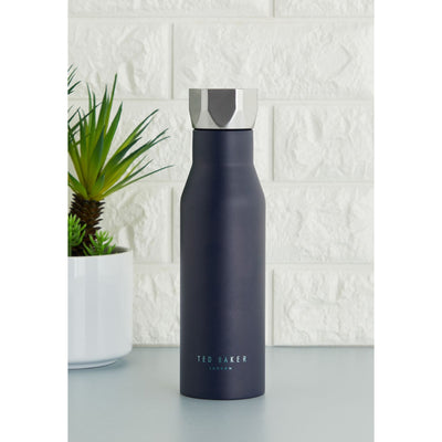 Ted Baker Mens Water Bottle Hexagonal Lid 425ml