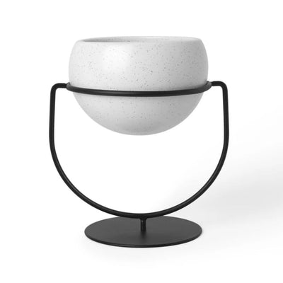Umbra Nesta Planter, white speckle