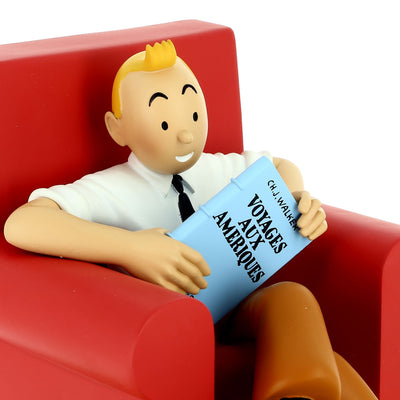Tintin Red Armchair Model