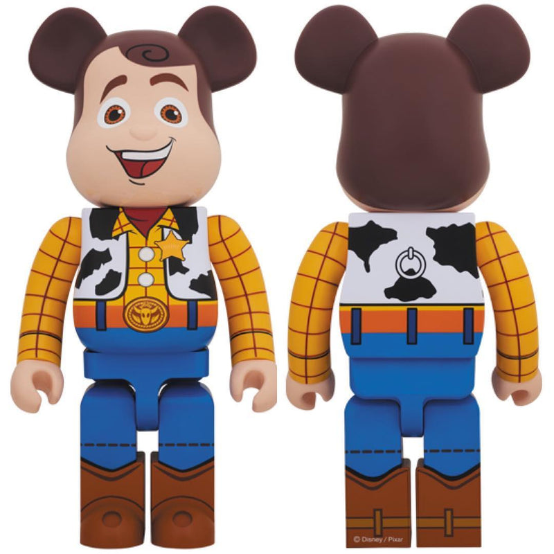 Medicom Toy BE@RBRICK WOODY 1000%
