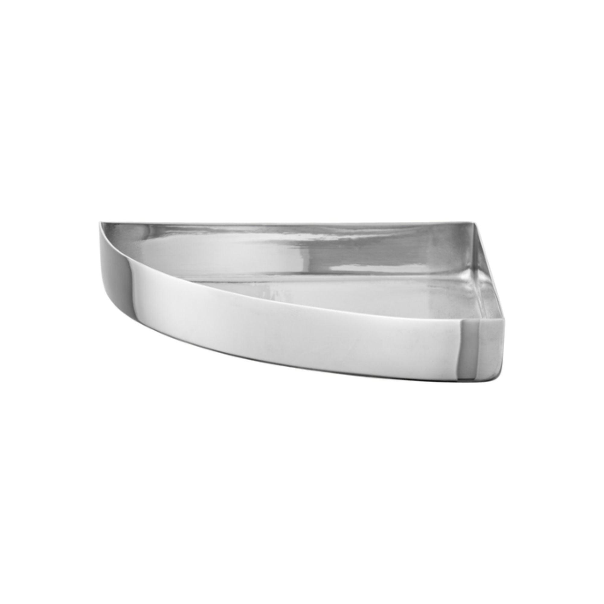 AYTM Unity Quarter Circle Tray Small , Silver