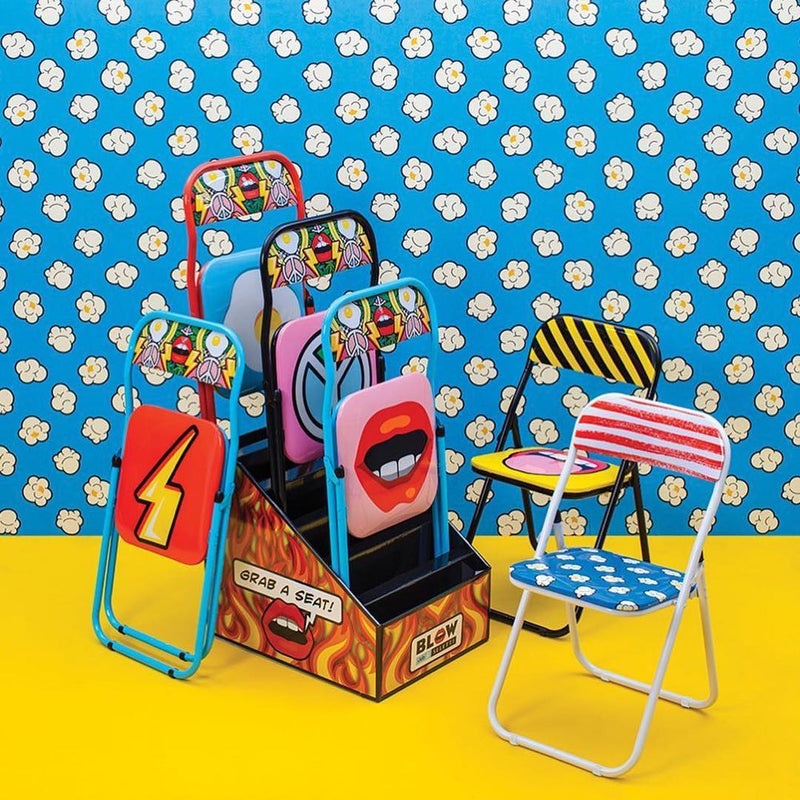 Seletti Mouth Folding Chair by Studio Job