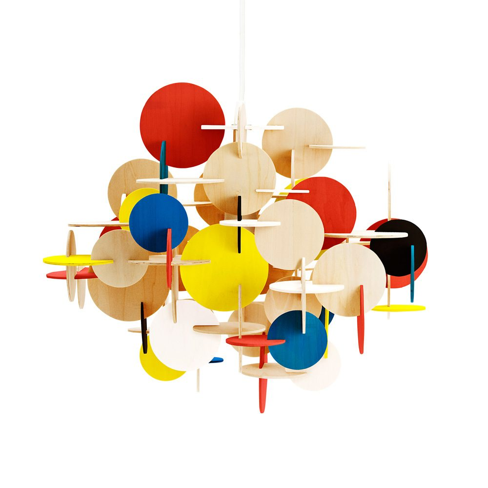 Normann Copenhagen Bau Sculptural Hanging Lamp