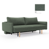 Innovation Living Frode sofabed with arms 518 elegance green