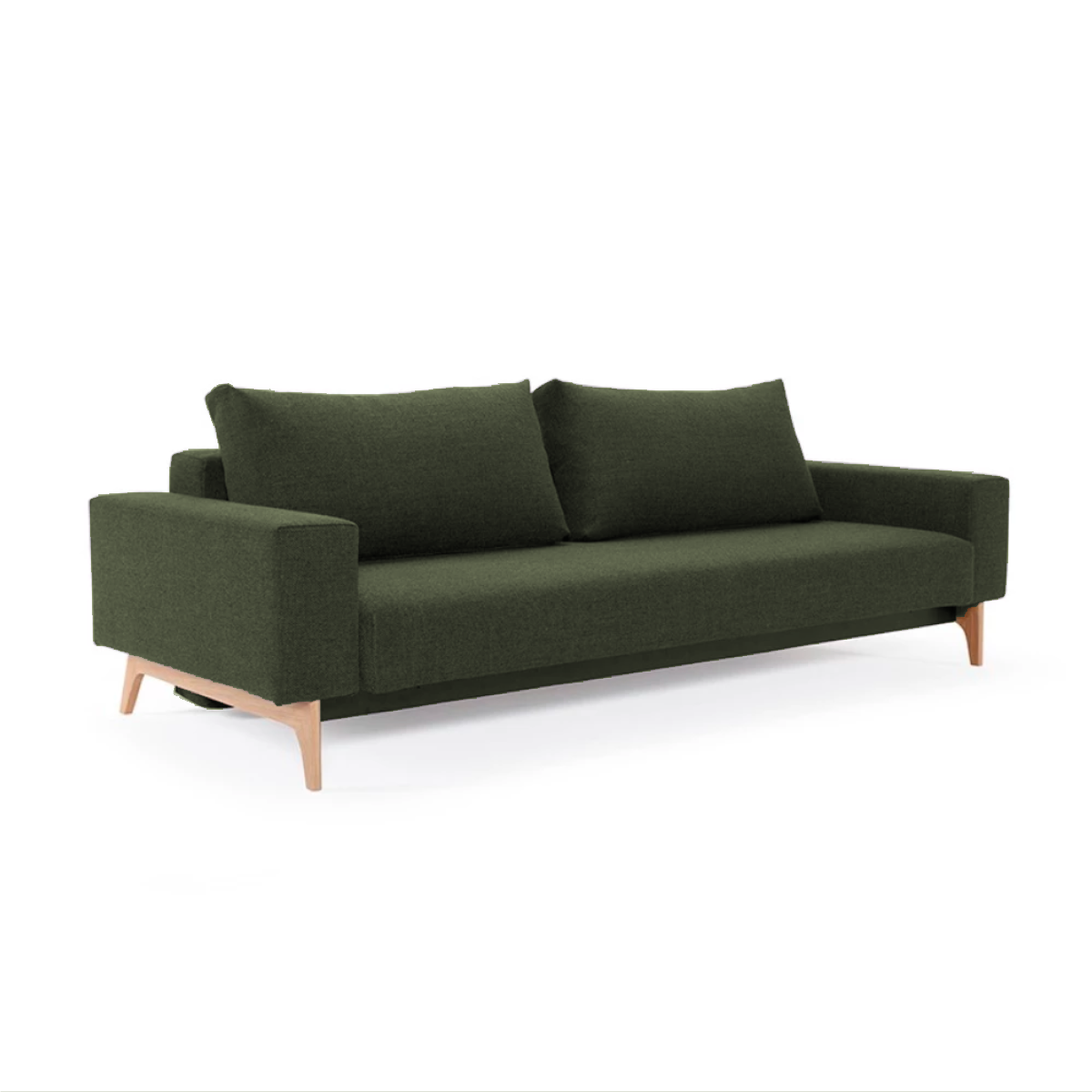 Innovation Living Idun Sofabed with Arms, 562 mixed dance green