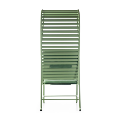 BD Barcelona Gardenias Armchair with Pergola Outdoor by Jaime Hayon