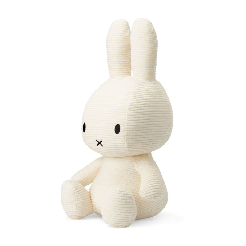 IBTT Corduroy Miffy soft toy 50cm, off white