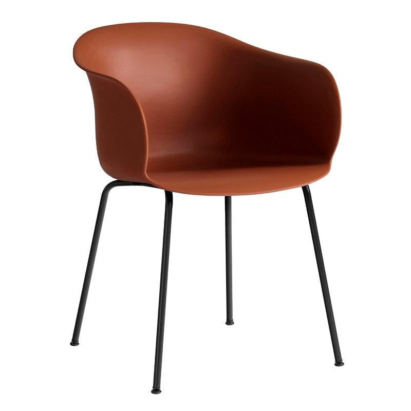 &Tradition JH28 Elefy Chair , Copper Brown - Black