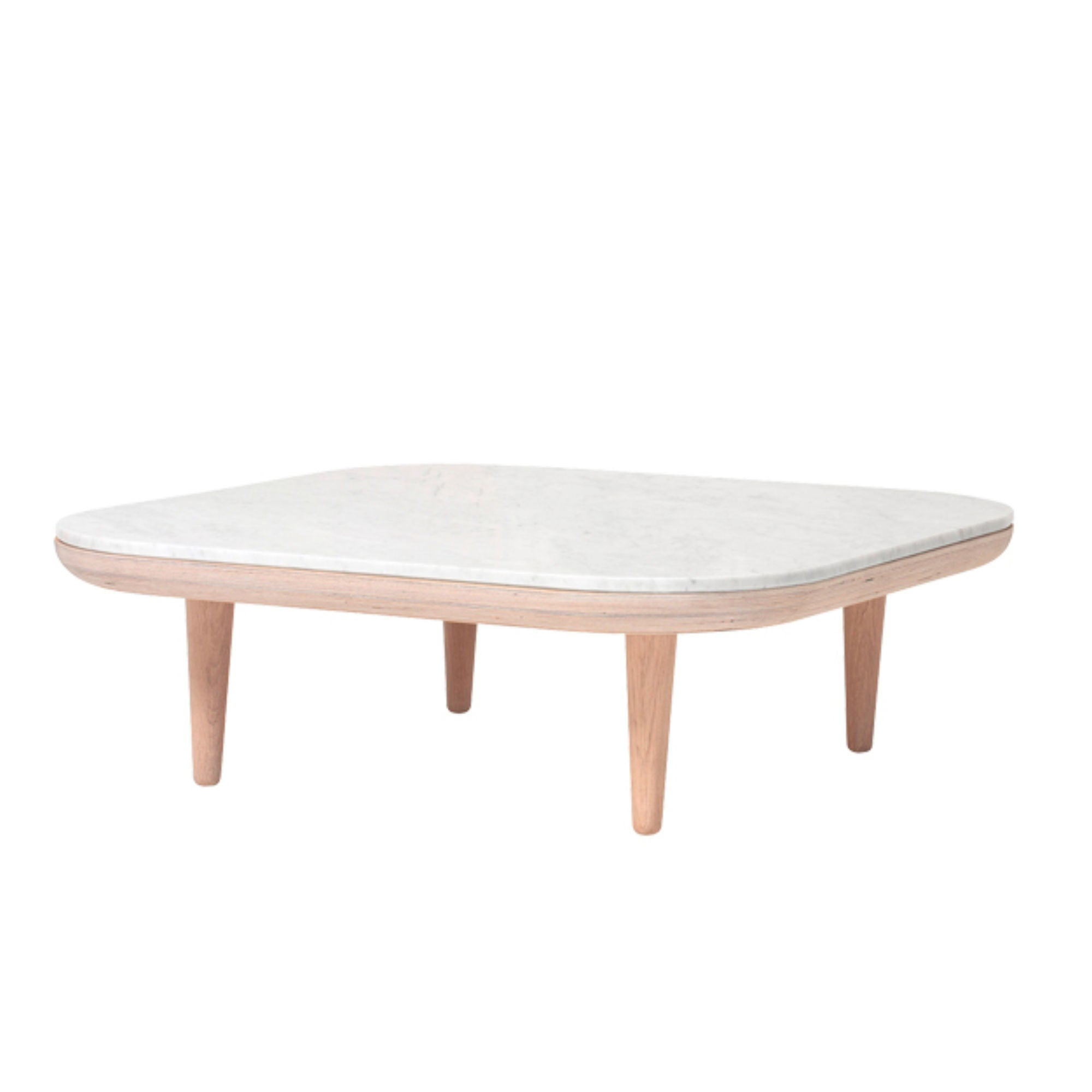 &Tradition SC4 Fly Table , White Oiled Oak-honed Bianco Carrara