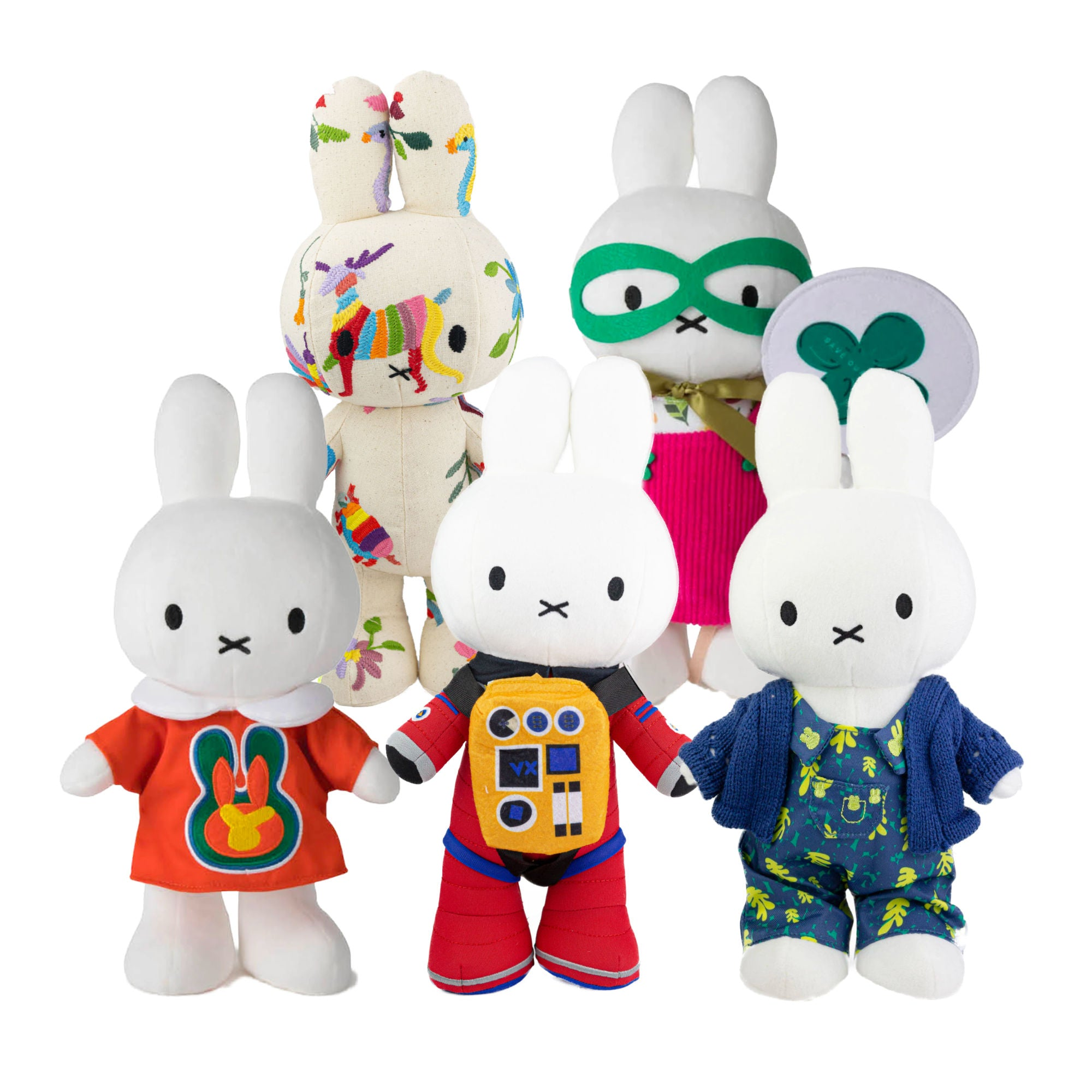 65 Years Limited Edition | Miffy Fashion Design plush doll 34cm , Full Set