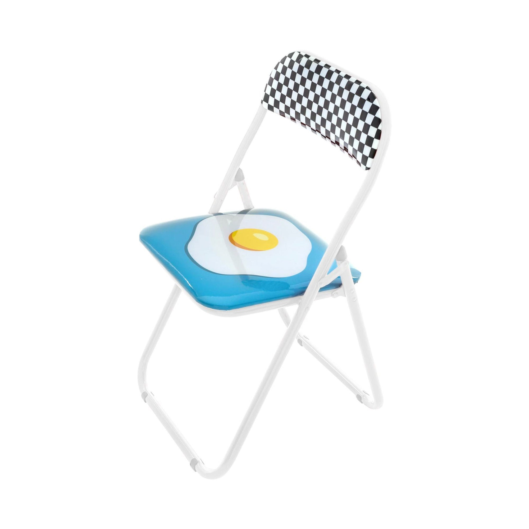 Seletti Studio Job Blow folding chair egg