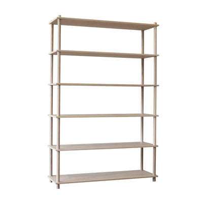 Woud Elevate Shelving System 6 , Oak