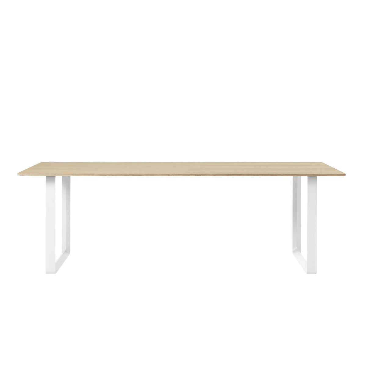 Muuto 70/70 table 225 * 90 oak white