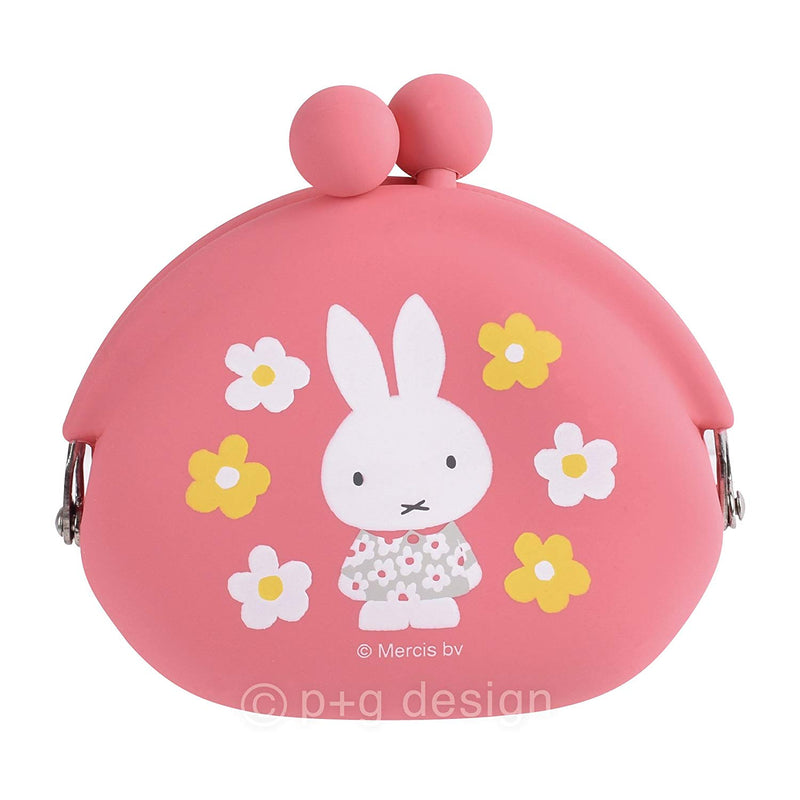 Pochibi Miffy Flower Coin Case