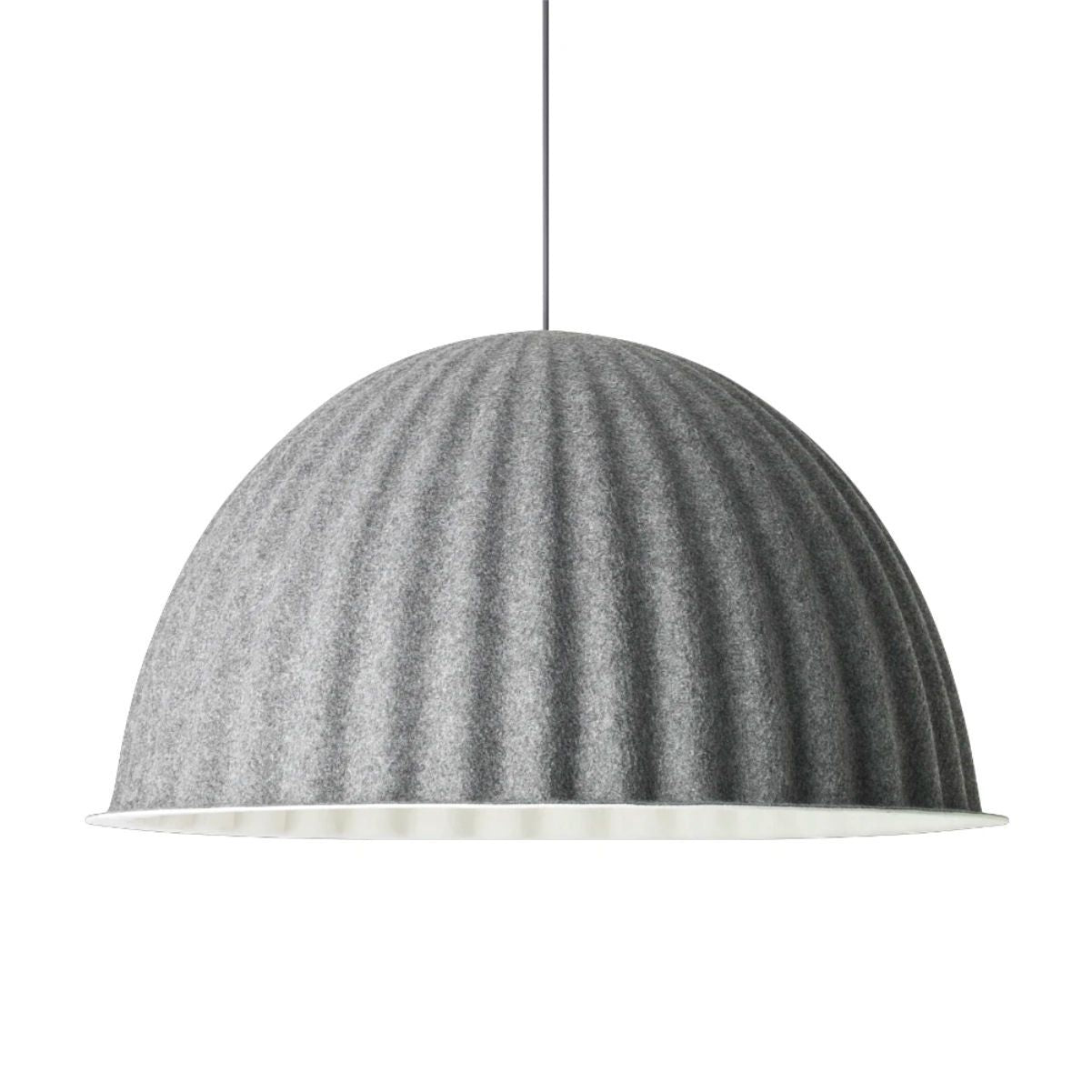 Muuto Under The Bell pendant lamp Ø82cm, grey