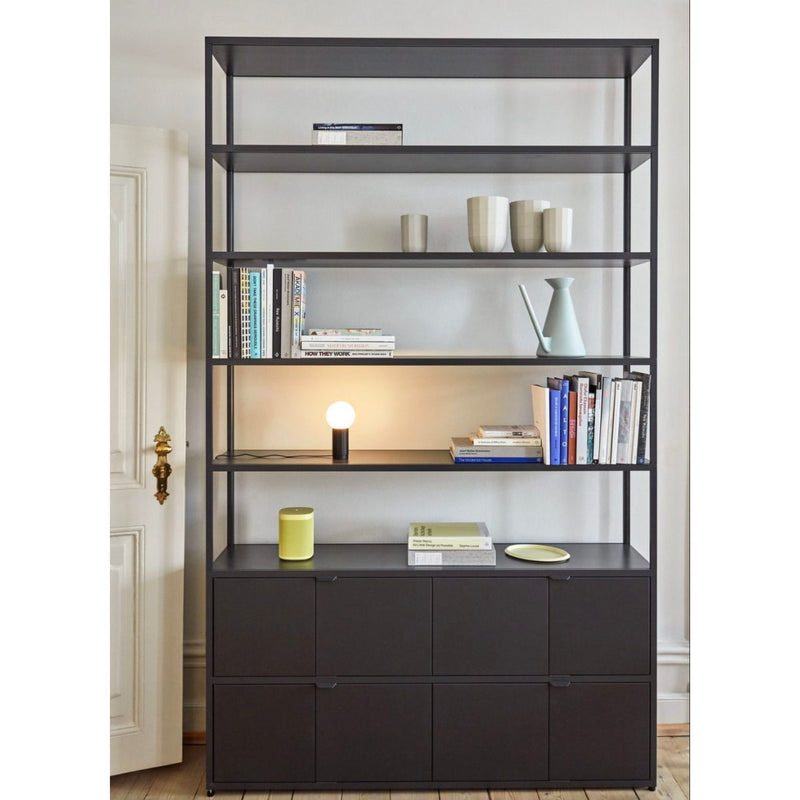 Hay New Order cupboard with wooden sliding door 230cm