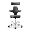 HAG Capisco 8107 ergonomic chair, leather