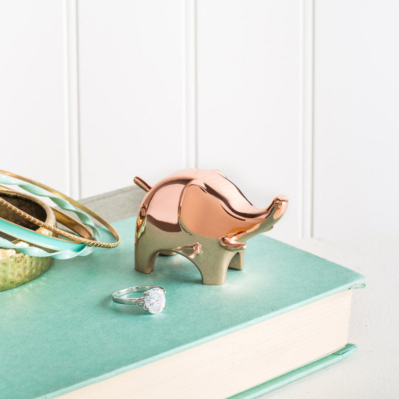 Umbra Anigram Ring Holder Elephant