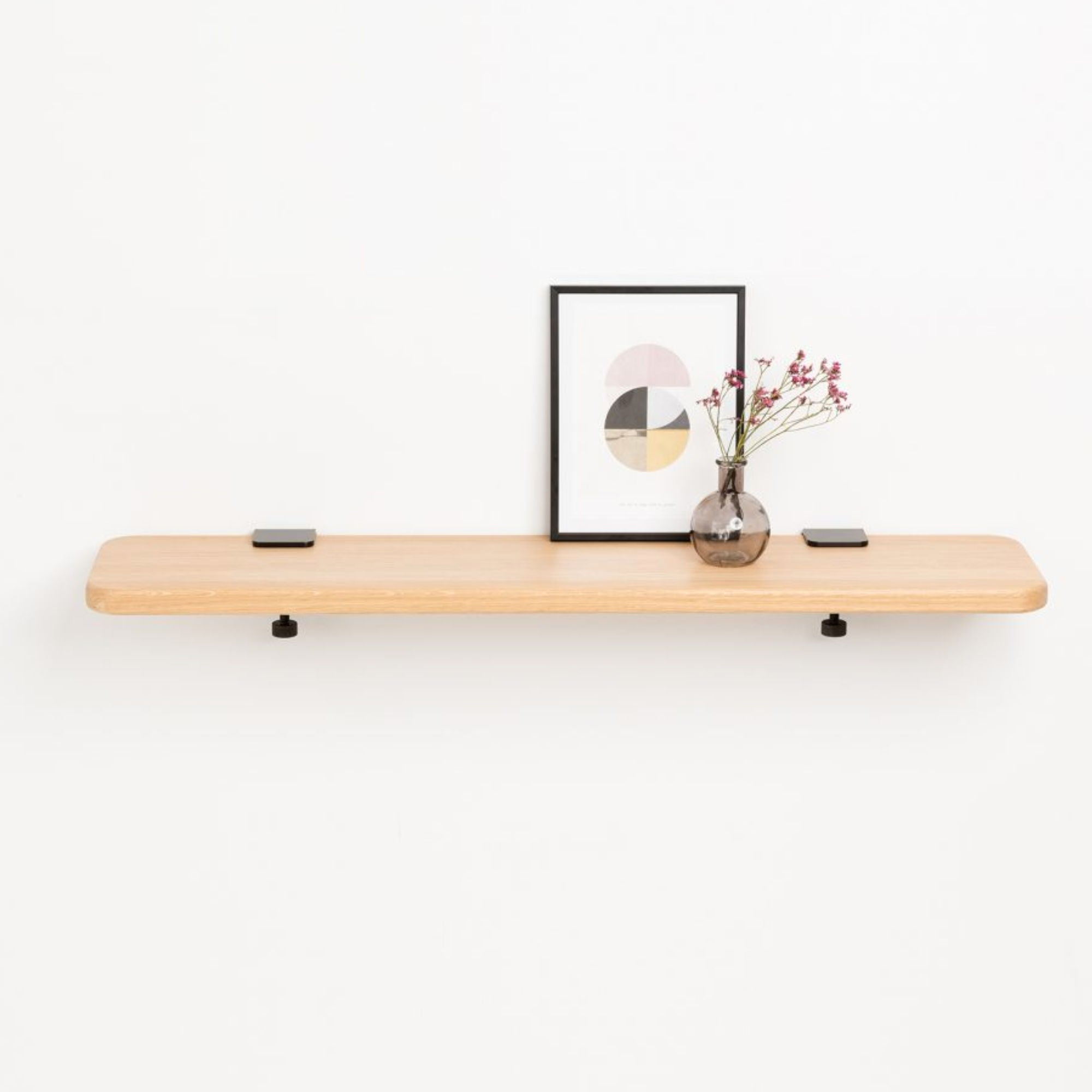 Tiptoe Solid oak shelf, 90 * 20cm